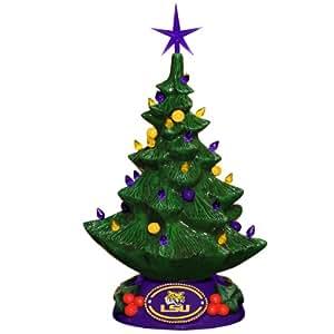 NCAA LSU Fightin Tigers Christmas Tree