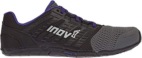 Inov-8 Women's Bare-XF 210 v2 (W) Cross Trainer, Grey/Black/Purple, 9.5 B US