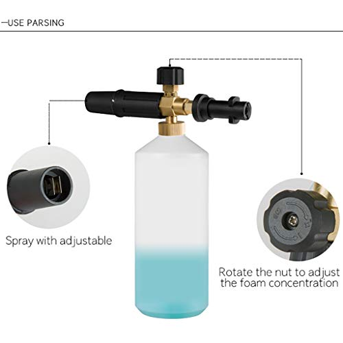 High-pressre car wash Foam Pot PA Pot FLL Copper KACHER K2-K7 Foam Pot Sprinkler Kärcher K Series
