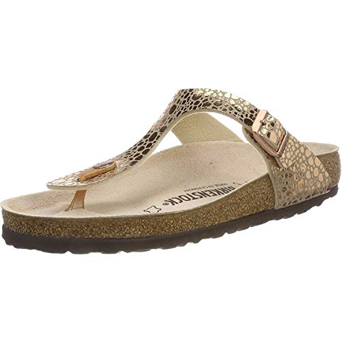 Birkenstock - Gizeh Metallic - 1005674 - Color: Brown - Size: 6.5