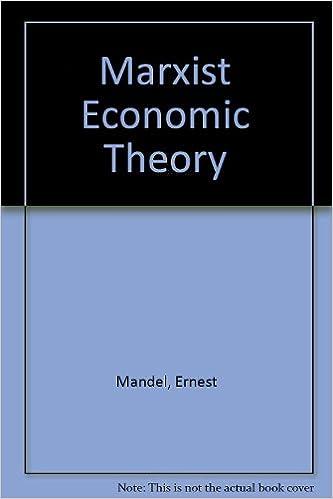 Amazon com: Marxist Economic Theory (9780850360738): Ernest