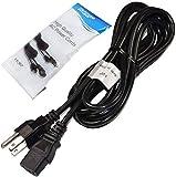 HQRP 10ft AC Power Cord fits Precor EFX 5.17 5.23 5.33 EFX 5.23-AEXJ EFX 5.23-SK EFX 5.33-ST EFX5.33-ADFJ Fitness Elliptical Mains Cable