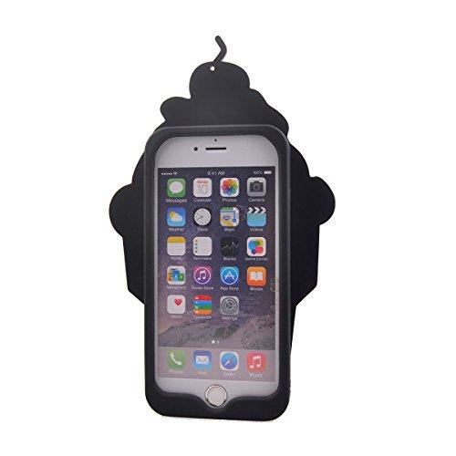 COOLKE Moda 3D Lovely Cartoon Suave Silicona Funda Carcasa Tapa Case Cover para Apple iPhone 6 6s (4.7) - 020 005