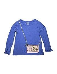 p.s. Girls Purse Pocket T-Shirt Long Sleeve - Hidden Pocket in Purse