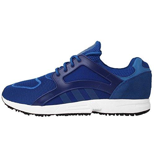 Adidas Men's Racer Lite, BLUE/NAVY/WHITE, 8 M US