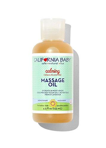 California Baby Massage Oil - Calming, 4.5 oz