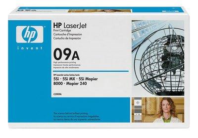 Hewlett Packard 09A Laserjet 5si/8000 Series/Mopier 240 Microfine Print Cartridge 15000 (5si Series)