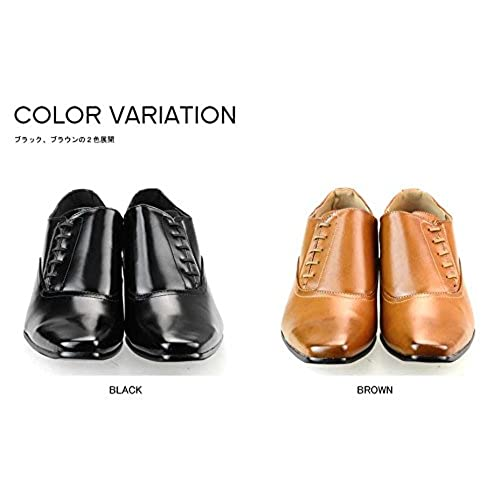 7c0efc270f47 low-cost MM ONE Mens Elevator Shoes 2.36 Inches Height Increasing Dress  Shoes Plain