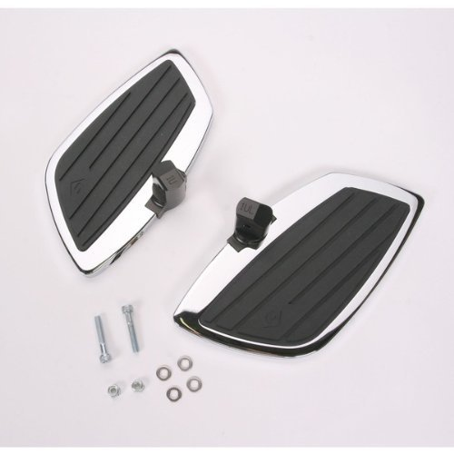 Swept Rear Floorboard Kit (Cobra Rear Floorboard Kit Swept for Honda 750 Aero 04-07)