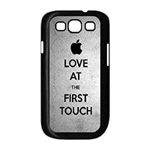 Apple Love At First Touch Samsung Galaxy S3 9300 Cell Phone Case Black phone component RT_349862