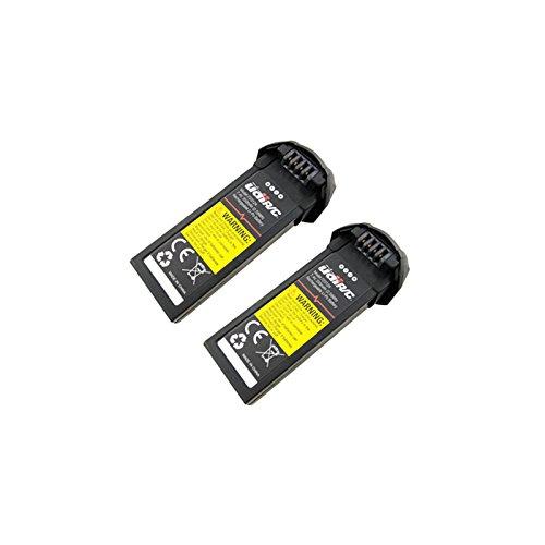 ETbotu - Batería de Litio para UDI U31 / U31 W / U36 / T25 / U34 W / U36 W (7,4 V, 350 mAh), Package:2pcs, 1