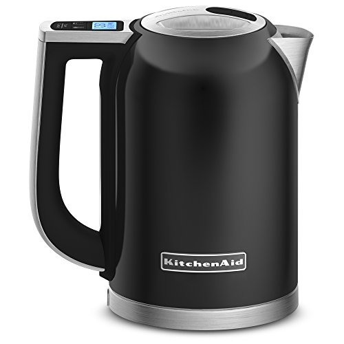 kitchen aid black tea kettle - 1