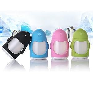 Mini Ultrasonic Mist LED Air Humidifier Purifier Aroma Oil Diffuser