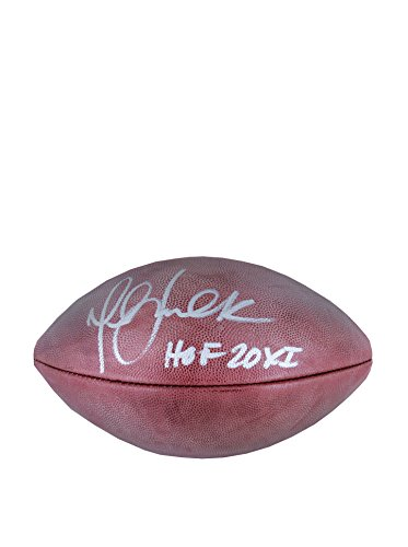 NFL St. Louis Rams Marshall Faulk Signed Football by Steiner Sports