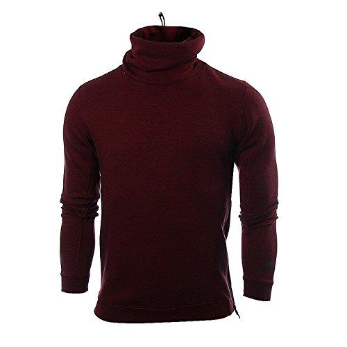 Nike Men's Tech Fleece Pullover Funnel Sweatshirt 679908 677 Size 2XL by NIKE