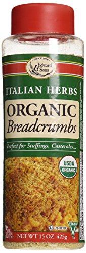 Sons Italian - Edward & Sons Organic Breadcrumbs Italian Herbs -- 15 oz