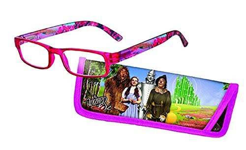 Eye Style Reading Glasses with Matching Eyeglass Case (+ 2.5 WIZARD OF OZ)