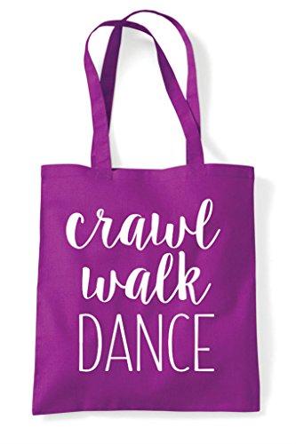 Bag Walk Crawl Statement Dance Tote Shopper Magenta ICIwZqAn