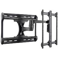 Sanus Full-Motion Wall Mount for 37-65 Inch Flat Panel TVs (Black)
