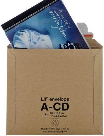 Tamaño 150 x CD LIL cartón rígido 180 x 164 mm sobres: Amazon.es: Oficina y papelería