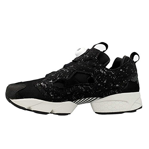 Reebok Mens Sneaker Instapump Speckle Bladder In Neoprene Nero Black h0Z4nS