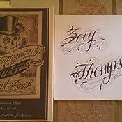 Gentlemans Tattoo Flash Script Book