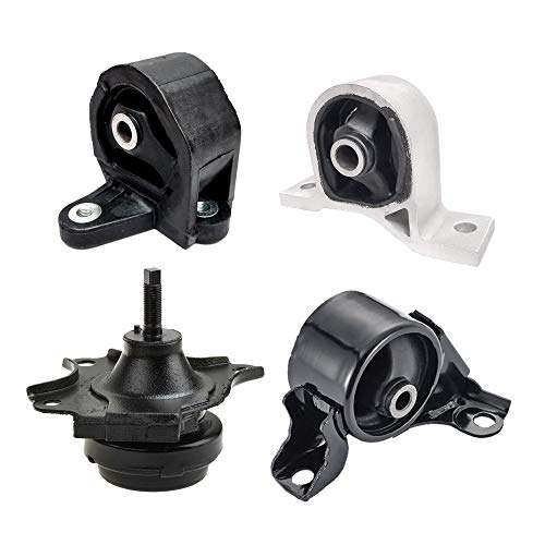 Engine Motor Mount Fits 2001 2002 2003 2004 2005 Honda Civic 1.7L 4 Pcs A4511 A6588 A6591 A6595 - Mount Civic Engine Honda