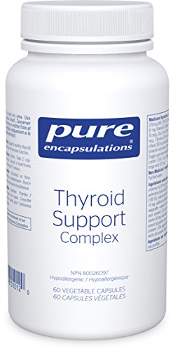 Pure Encapsulations - Thyroid Support Complex - Hypoallergenic Supplement with Herbs and Nutrients for Optimal Thyroid Gland Function* - 60 Capsules ()