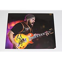 Zac Brown Band Uncaged Zac Brown Signed Autographed 8x10 Glossy Photo Loa
