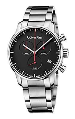 Calvin Klein City K2g27141 Chronograph Watch