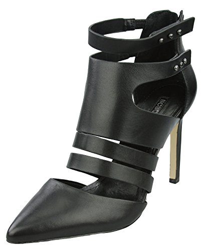 Leather Womens Pump BCBGenertion Womens Canon Black Dress Canon BCBGenertion tw48qO