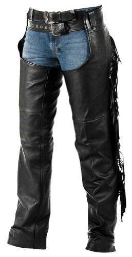 Ladies Fringe Motorcycle Chaps