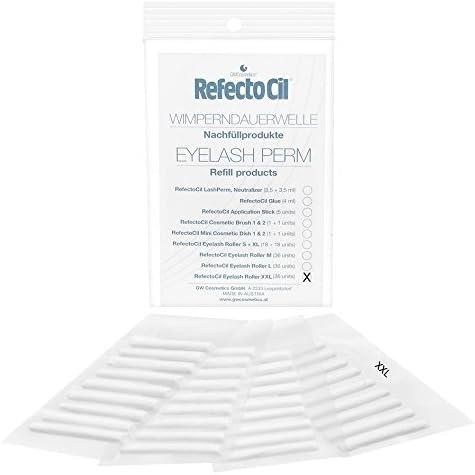 GW Cosméticos RefectoCil rodillos de pestañas XXL, 2-pack (2 ...