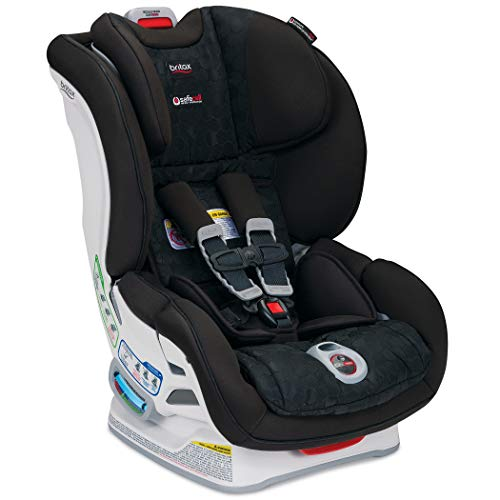 Britax Boulevard ClickTight Convertible Car Seat - 2 Layer Impact Protection - Rear & Forward Facing - 5 to 65 Pounds, Circa (Seat Air First Car Safety Plus)