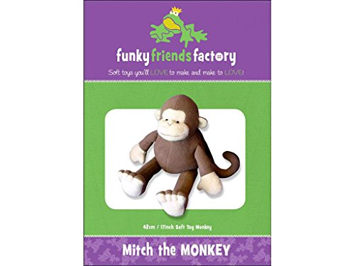 Funky Friends Factory Mitch The Monkey Ptrn