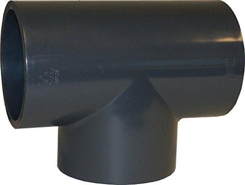 "SCH 80 PVC 3/4"" STRAIGHT TEE (SOCKET) - LOT OF 5"