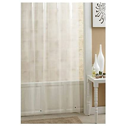 Amazon Ex Cell Home Fashions Extra Long Vinyl Shower Curtain