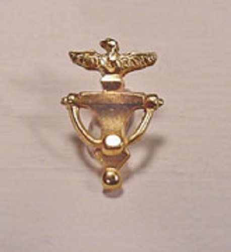Dollhouse Miniature Clare-Bell Brass Eagle Door Knocker by Clare-Bell Brass Works