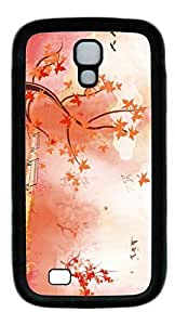 Autunm landscape Easter Thanksgiving Personlized Masterpiece Limited Design TPU Black Case for Samsung Galaxy S4 I9500 by Cases & Mousepads