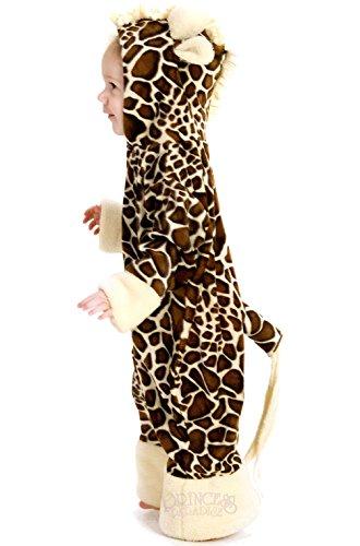 Mememall Fashion Spotted Animal Giraffe Infant Costume (Giraffe Deluxe Latex Mask)