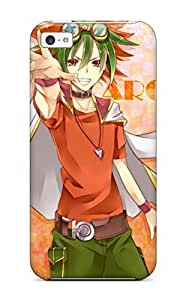 Durable Protector Case Cover With Yugioh Arc V Anime47 Hot Design For Iphone 5c