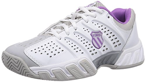 K-Swiss Ks Tfw Bigshot Light-wht/Gllgry/Dwbrry/Orchdi - Zapatillas de tenis Mujer WHT/GLLGRY/DWBRRY/ORCHDI