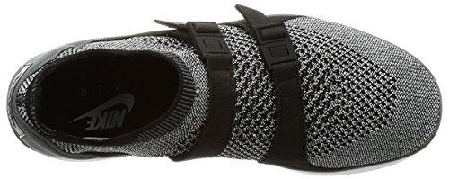 9M Running Dark Mens Air Shoe Black Flyknit Sockracer White Ankle NIKE Black Grey High wZOqxPYx4