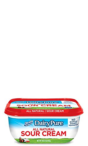 DEANS DAIRY PURE SOUR CREAM ALL NATURAL 12 OZ PACK OF 3