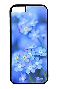 iPhone 6 Plus Case, Customized Slim Protective Hard PC Black Case Cover for Apple iPhone 6 Plus(5.5 inch)- Beauty Flowers