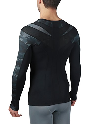 IntelliSkin Mens Foundation Long Sleeve - PostureCue & Smart Compression