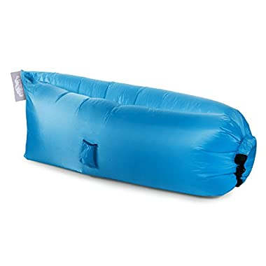 Twisted Root Design Inflatable Hammock, Blue