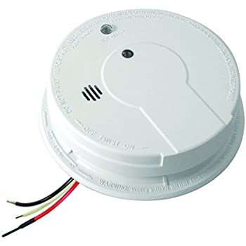 Kidde p12040 Hardwire with Battery Backup Photoelectric Sensor Smoke Alarm (Pack of 4)