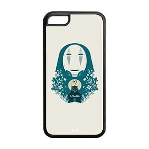 Princess Mononoke Solid Rubber Customized Cover Case for iPhone 5c 5c-linda543