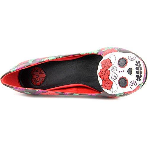 Dead Of Skull The Red Women's u Heels T Day Floral k Shoes Antipop qxwgcFBS